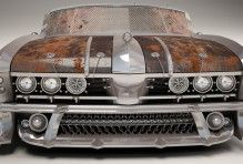 Post-Apocalyptic Car, Post-apocalyptic Car, car, просмотров 569