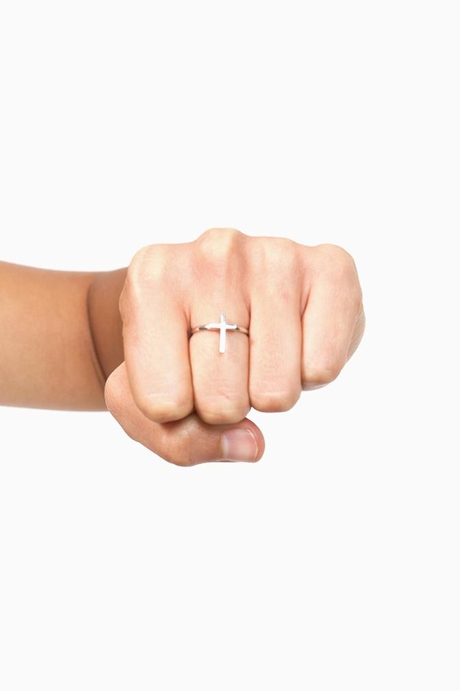 Little Cross RingMidi Rings, Style, Crosses Rings, Nastygal Com, Cross Rings, Accessories, Nastygalcom Rings, Nasty Gal, Little Crosses