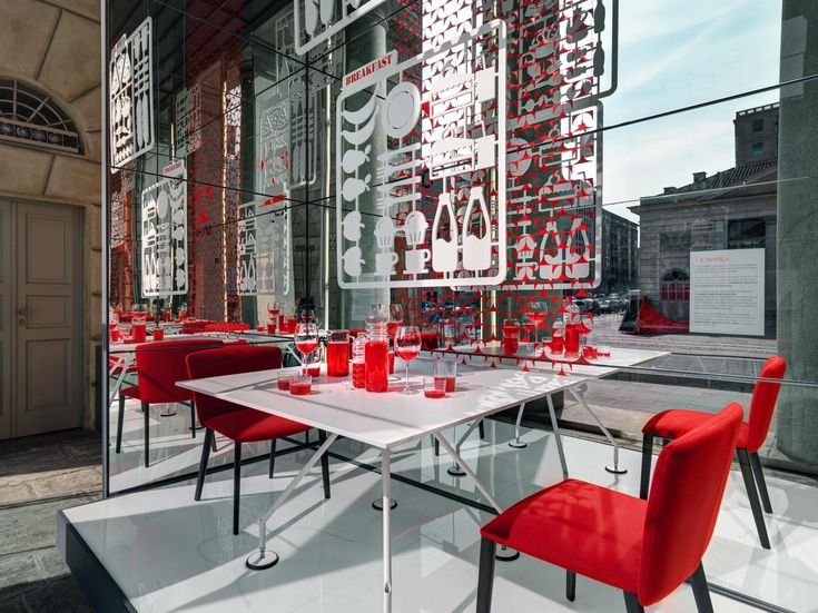 The #installation #designed for Tecno transforms the beautiful Piazza XXV Aprile into a #urban living room. #design #living #milan #welcoming #urban #seats #continuousvolumes