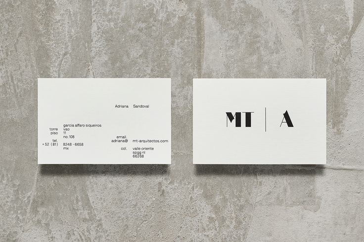 MT   A - Architecture Branding by Anagrama   http://mindsparklemag.com/design/mt-architecture-branding/