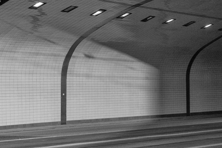 The W-Z route (Trasa W-Z) tunnel, Warsaw, Poland