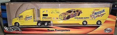 Jeff Green Hot Wheels Team Transporters  #10 Nesquik Racing 2001 Diecast Car Toys & Hobbies:Diecast & Toy Vehicles:Cars: Racing, NASCAR:Other Diecast Racing Cars www.internetauctionservicesllc.com $14.99