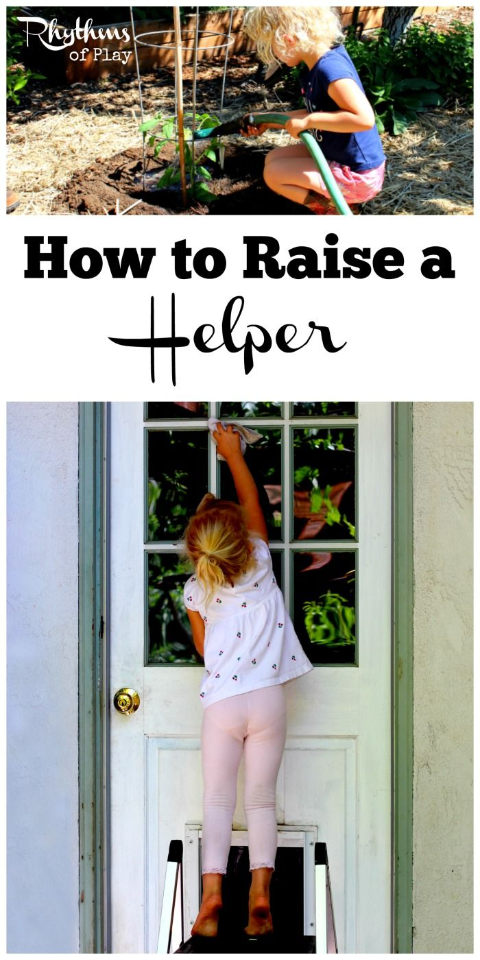 I don't want to do chores by myself forever. I want my kids to help me around the house without bothering them about it all day long. Learn how to raise a helper that helps out with household chores with these simple tricks and tips.