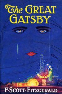 The Great Gatsby - F Scott Fitzgerald - 1925 jacket
