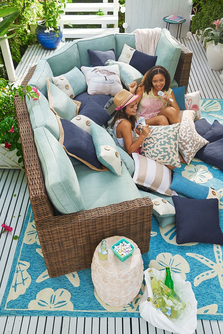 Echo Beach Is Pier 1u0027s Most Popular And Versatile Sectional Collection,  With Over 20 Different