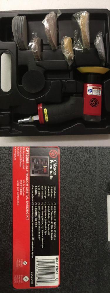 Sanders 42249: Chicago Pneumatic Cp7200s 3-Inch Adjustable Speed Mini Random Orbital Sander Kit -> BUY IT NOW ONLY: $105.99 on eBay!