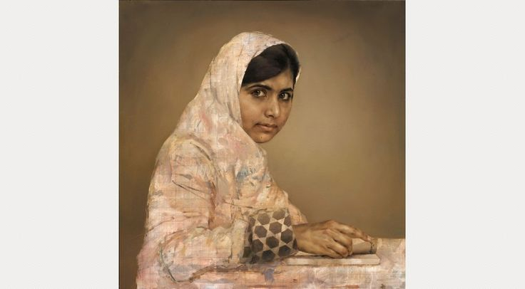 Girl Reading (Malala Yousafzai) Jonathan Yeo: Portraits National Portrait Gallery  - Jan 5th 2014