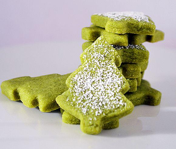 Green Tea Shortbread Cookies {Vegan} | VEG LIFE ORIGINAL RECIPES | Pi ...