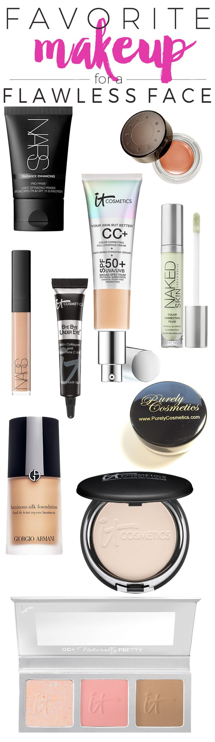 My 10 Favorite Makeup Products for a Flawless Face