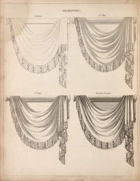 71 best images about how to draw curtains on pinterest for Window design sketch
