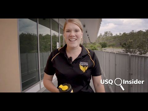 USQ Insider - New Springfield building tour. Want to know what the five coolest facts are about the new USQ Springfield building? Join Amy, from USQ Phoenix Central, as she explores what this five-star rated building has to offer!
