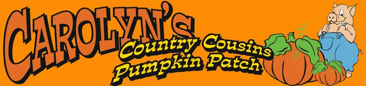 Carolyn's Country Cousins Pumpkin Patch and Corn Maze Home Page, Serving Liberty & Greater Kansas City, Missouri