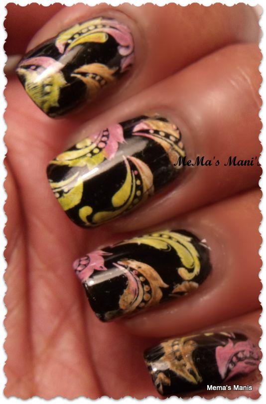 LeaLac-B Image PlateNails Mani Pedi, Nails Nails, Stamps Plates, Nails Art, Mema Mani, Nailart Nails, Lealac B, Amazing Nails, Lealacb Underwear
