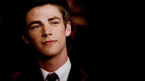 Sebastian Smythe (Grant Gustin) from Glee