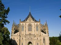 Kutná Hora Cathedral of Saint Barbora