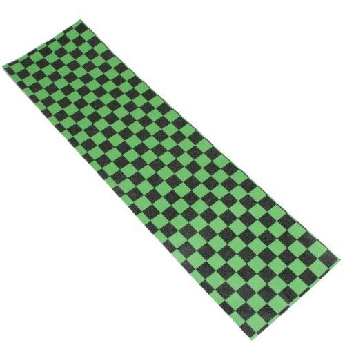"9"" x 33"" Skateboard Longboard Griptape Grip Tape Sheet Green and Black Grid - 9 Inch x 33 Inch by Crazy. $5.06. Features: 1. With high quality material, Skateboard Grip Tape are easy to remove when you are ready 2. Cool theme pattern design of the Skateboard Grip Tape will surely make them great products for adding style anywhere 3. The Skateboard Grip Tape are great ways to personalize and customize your skateboard 4. It is easy to remove as well as apply the Skateboard Grip..."