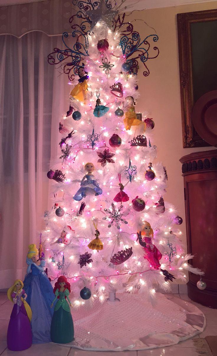 Hot pink christmas tree decorations - Disney Princess Christmas Tree More