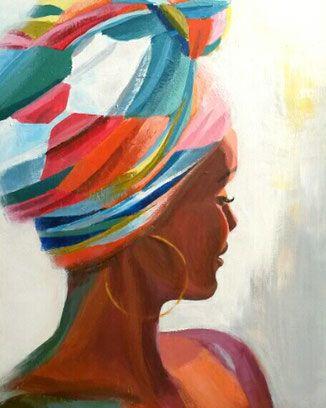 """Poster """"Kenia II"""" by Elisabeth Gecius"""