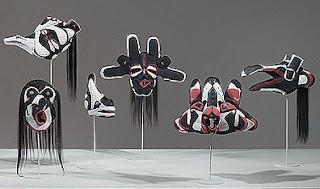 Brian Jungen: Prototypes for New Understanding  Made from Air Jordans