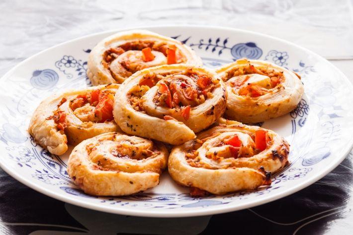 Grove pizzasnegle til madpakken | Vi Unge