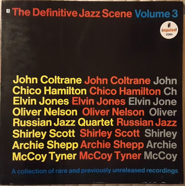 Various - The Definitive Jazz Scene Volume 3 (Vinyl, LP) at Discogs