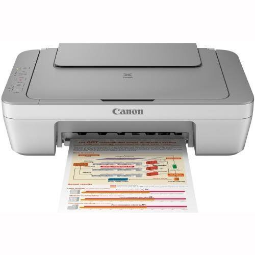 Printer Canon PIXMA MG2450 All-in-One Printer with Full Set of Inks