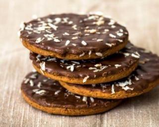 Biscuits ganache Nutella© façon Granola© (sans beurre, sans huile)