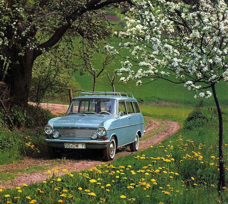 My first car! The Opel Kadett