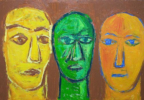Kazuya Akimoto - Three Wise Men