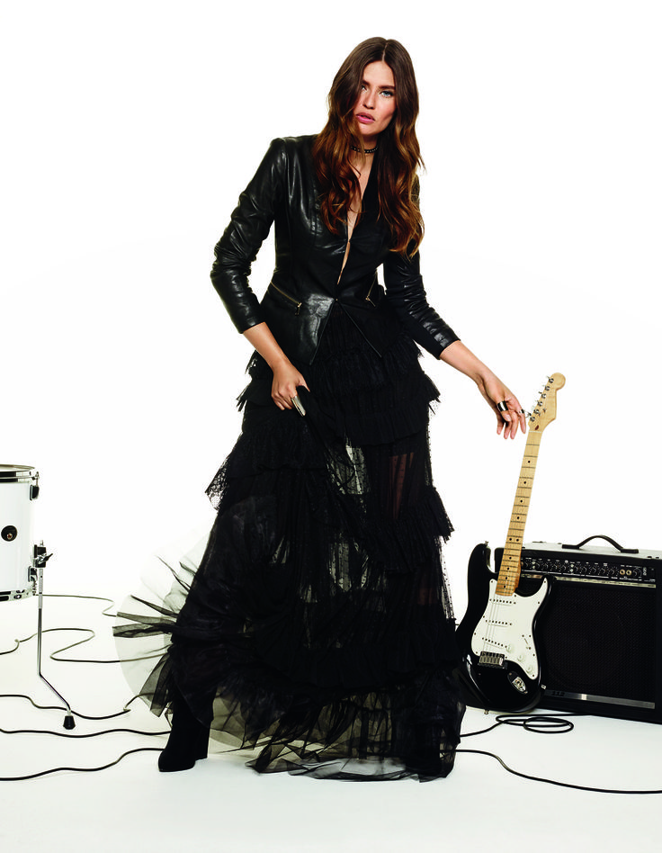 Sounding like Saint Motel and fashion like Bianca Balti. So rock'n'roll! #OVS #OVSaw15 #OVScampaign