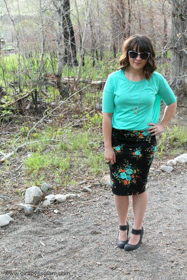 LulaRoe Skirt on www.girllovesglam.com