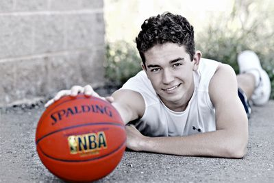 Basketball Senior Pictures Madison WI Photographer--- for joel :)