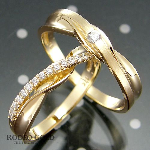 Gold engagement rings TCR70849