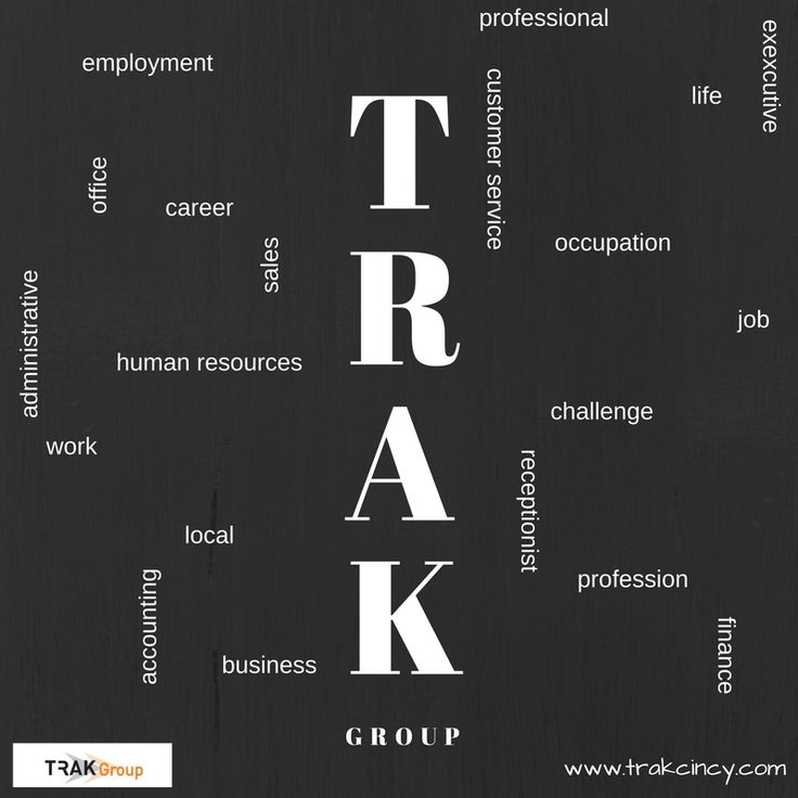 Trak employment for all levels of office support