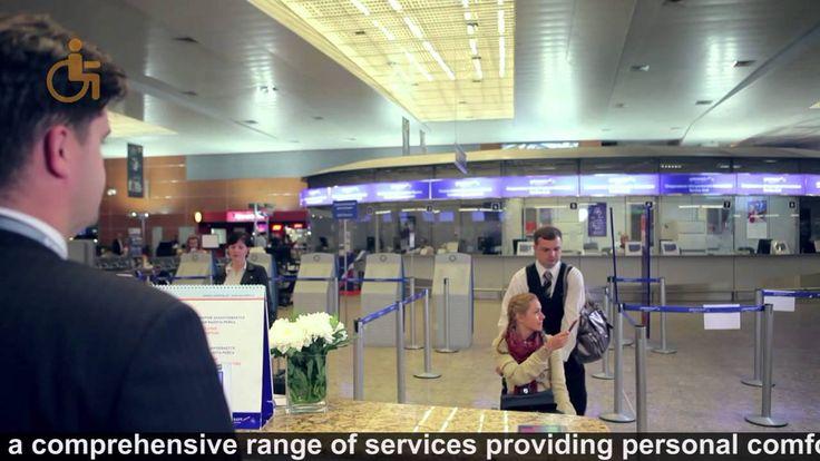 Sheremetyevo International Airport provides innovative services for pass...