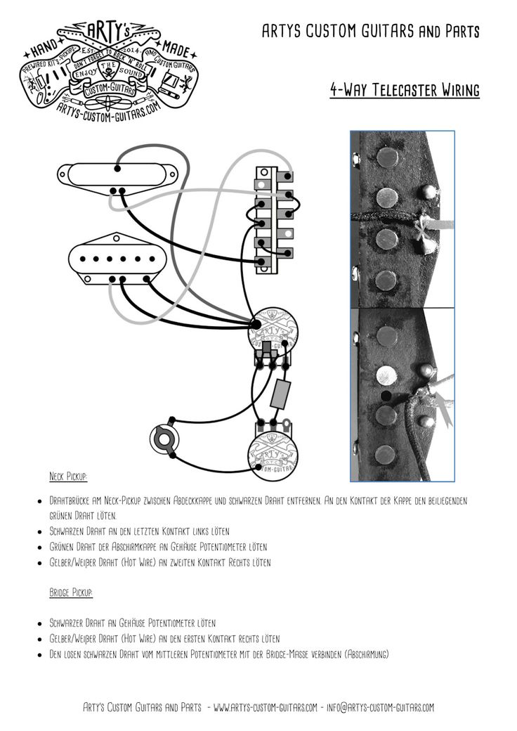 tele b wiring diagram