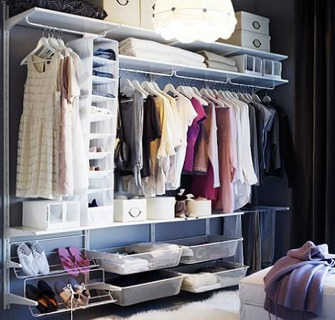 Algot Ikea Closet System