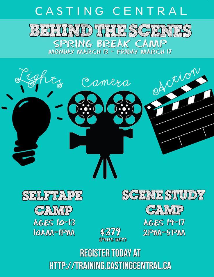 Casting Central Inc. | Toronto, Ontario, Canada | 416.921.1489 | info@castingcentral.ca -- Training - CC