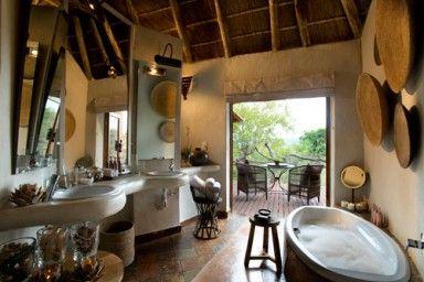Madikwe Lodge - [Bathroom]  North West Province - Africa