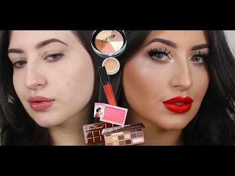 Glam Neutral Smokey Eyes + Red Lips Make Up Tutorial! Melissa Samways ♡ http://makeup-project.ru/2017/11/23/glam-neutral-smokey-eyes-red-lips-make-up-tutorial-melissa-samways-%e2%99%a1/
