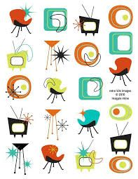 Image result for retro modern clip art