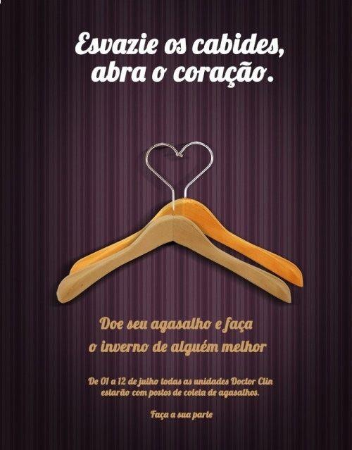 Campanha do Agasalho Doctor Clin 2013.