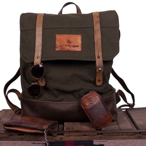 45 best Leather Roll Top Back Pack images on Pinterest ...