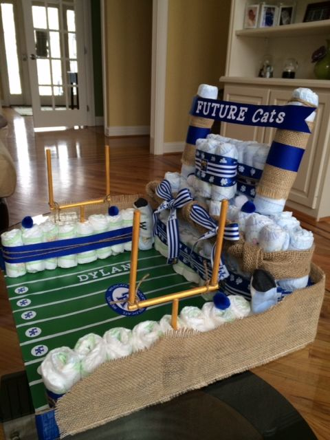 25 Best Ideas About Football Diaper Cakes On Pinterest