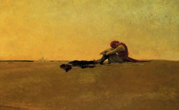 The Howard Pyle painting Marooned is one of the best known works at the Delaware Art Museum. Description from delawarebusinessdaily.com. I searched for this on bing.com/images