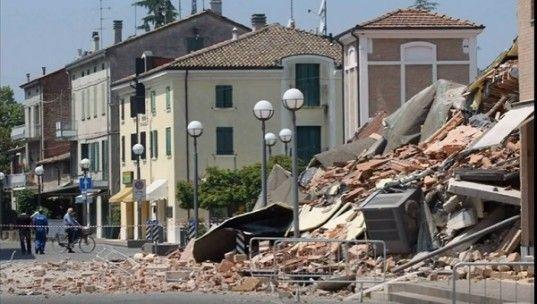 Зеслетрясение в Италии: Дома превратились в руины, под завалами остаются люди