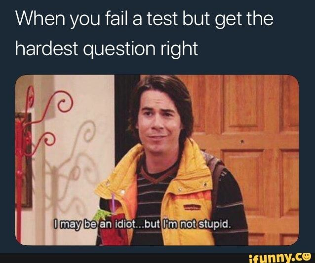 Yes. Same. I often get the easy questions wrong, but at least one of the hard questions spot on! It's hilarious and frustrating at the same time.