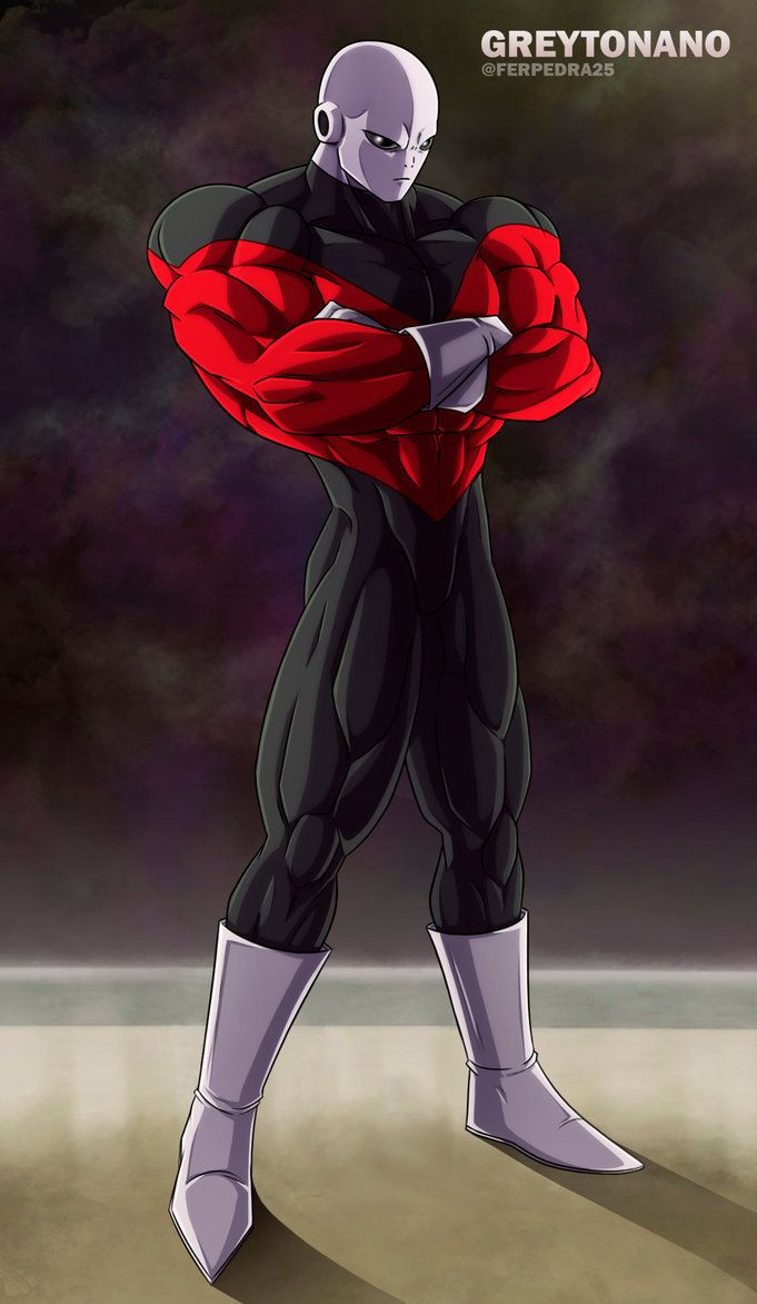 Jiren The Gray by greytonano