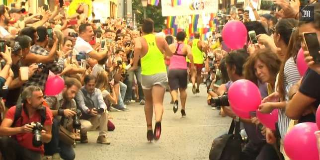 La capitale espagnole accueille la cinquième édition du plus important événement mondial de revendication de la «fierté» d'être lesbienne, gay, bi ou trans (LGBT).