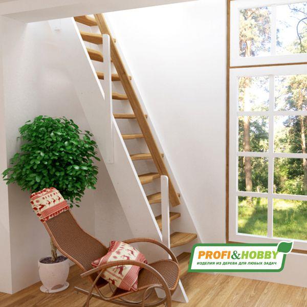 фото деревянной лестницы К-007м2